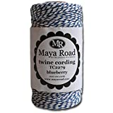 Maya Road TC2279 Baker's Twine Cording, Blueberry