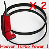2 x Hoover Turbo Power Turbopower 1 Vacuum Cleaner Belts