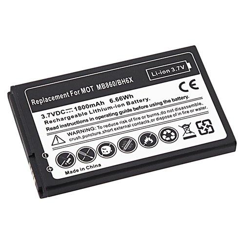 Compatible Rechargeable Li-ion Battery for Motorola MB860 ATRIX 4G