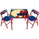 Disney Spiderman Erasable Activity Table Set with 3 Markers