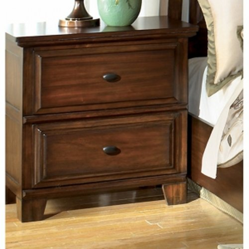 Larchmont II Dark Brown Bedroom Nightstand