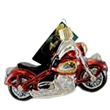 Old World Christmas Motorcycle Ornament