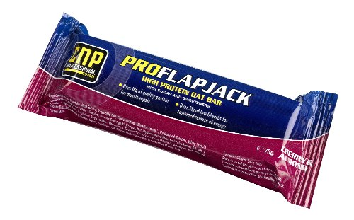 CNP Pro Protein Flapjack Cherry & Almond - Box of 24