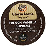 Gloria Jeans Coffees, French Vanilla Supreme K-Cup Portion Pack for Keurig Brewers 24-Count