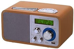 elta 3510 radio mit usb anschluss ahorn. Black Bedroom Furniture Sets. Home Design Ideas