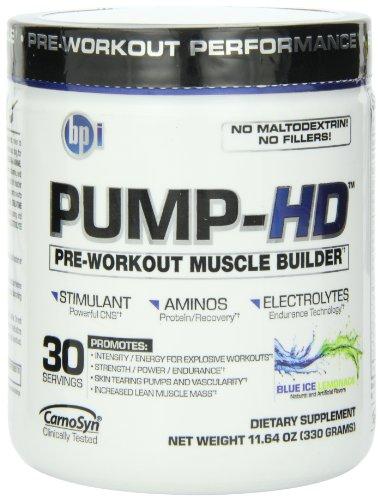 BPI Bpi Pump-HD Lemonade Diet Supplement, Blue Ice 11.64oz