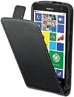 Muvit MUSLI0316 Etui à Clapet pour Nokia Lumia 625 Noir