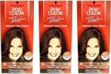 3x Schwarzkopf Poly Color Tint Permanent Dark Brown 43