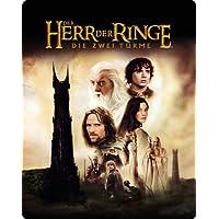 Der Herr der Ringe - Die zwei Türme (Wende Steelbook - exklusiv bei Amazon.de) [Blu-ray]