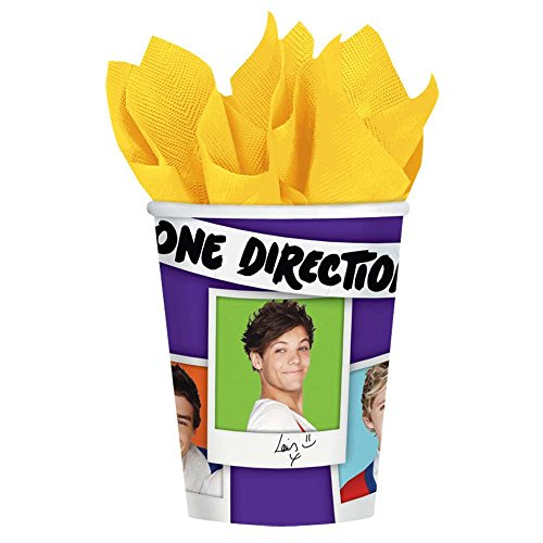 One Direction Paper Cups (8ct) - 1