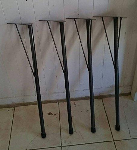 アイアンレッグ DIY素材 鉄脚L テーブル脚 4本セット鉄足