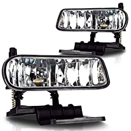 Winjet 	WJ30-0125-09 Chevrolet Silverado 1999-2002 Fog Lights 1500 & 2500 with Bulb Pair, Clear