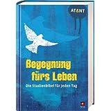 """Begegnung fürs Leben, Motiv """"Taube blau"""": Die Studienbibel für jeden Tag"""