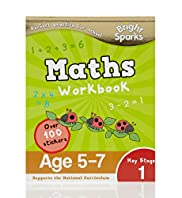 Bright Sparks Key Stage 1 Maths Workbook
