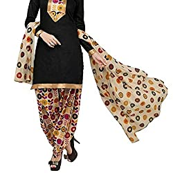 Shree Hari Creation Women's Poly Cotton Unstitched Dress Material (3852_Multi-Coloured_Free Size)