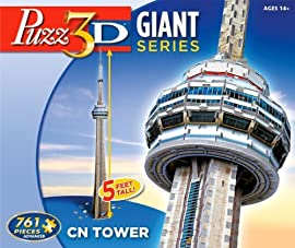 Giant Puzz 3D CN Tower