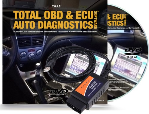 Total OBD & ECU Auto Diagnostics Software (TOAD)