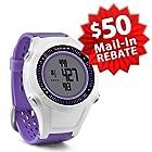 Garmin Approach S2 Golf GPS Watch   $50 Mail-In Rebate & 60 Day Return Policy! (Purple)
