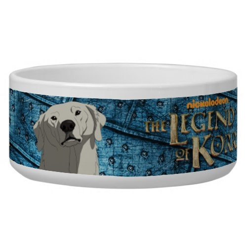 Legend of Korra: Naga Dog Bowl