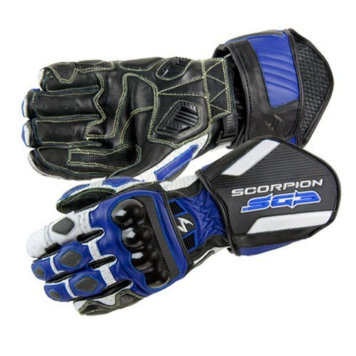 Scorpion SG3 Motorcycle Gloves Blue Size XXX-Large