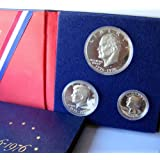 1976 40% Silver Proof 3-Coin Set