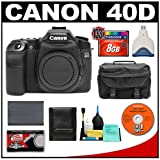 Canon EOS 40D 10.1-Megapixel Digital SLR Camera Body with 8GB CF ...