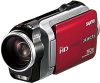 SANYO デジタルムービーカメラ Xacti SH11 赤