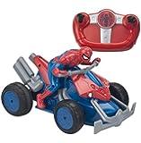 Spider-Man - 7903 - Voiture Radiocommandée - Moto Quad - 23 cm
