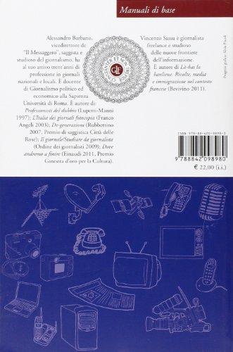 Libro manuale di giornalismo di alessandro barbano vincenzo sassu - Il giardino di barbano ...