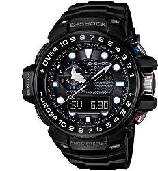 [カシオ]CASIO 腕時計 G-SHOCK GULFMASTER トリプルセンサーVer.3+スマートアクセス+タフムーブメント搭載 世界6局電波対応ソーラーウオッチ GWN-1000B-1AJF メンズ