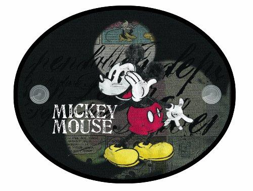 Joy Toy 77010 - Disney Mickey und Minnie, Sonnenschutz für das Auto mit Saugnapf Paar im Säckchen, 36 x 45 cm