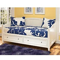 Hot Sale Home Styles 5530-85 Naples Daybed with Storage, White Finish