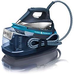 Rowenta Silence Steam Extreme DG8961 - Centro de planchado, autonomía ilimitada, 6,5 bares de presión, golpe de vapor 420 g/min, tecnología Silence para reducir el ruido, suela Microsteam Laser 400