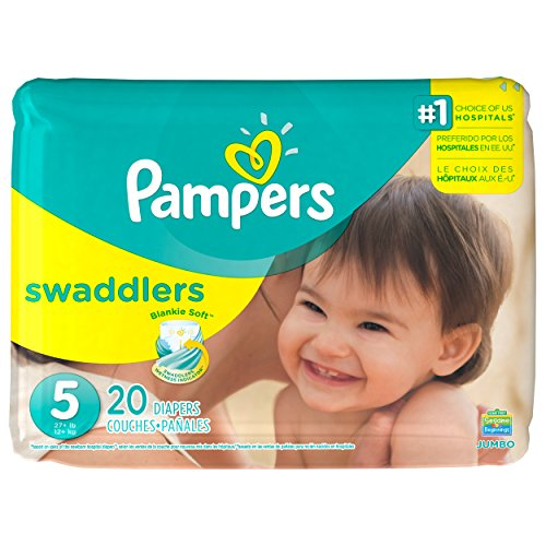Pampers Swaddlers Diapers - Size 5 - 20 ct - 1