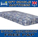 3FT SINGLE BUDGET ECONOMY MATTRESS FREE EXPRESS DELIVERY
