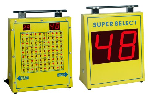 Super Select Electronic Bingo Machine Black Friday & Cyber Monday 2014