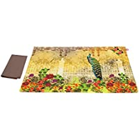 Song Of The Peacock Table Mats And Napkins Set