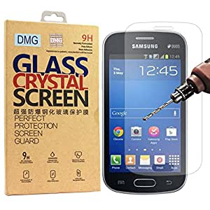 DMG 2.5D Tempered Glass Screen Protector for samsung galaxy star pro 7262 (No Fingerprints Anti-Scratch Oil Coated Washable)