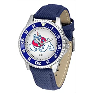 Fresno State Bulldogs NCAA Competitor Mens Watch by SunTime