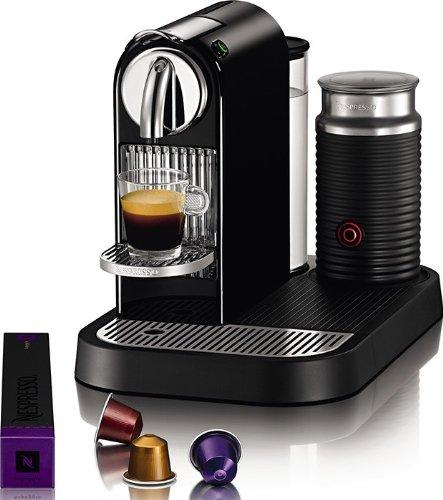 Nespresso D121-US4-BK-NE1 Espresso Maker  Aeroccino