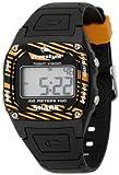 [フリースタイル]Freestyle スポーツウォッチ SHARK CLASSIC デジタル表示 ストップウォッチ・タイマー機能付き 10気圧防水 ブラック×オレンジ FS81267 メンズ 【正規輸入品】