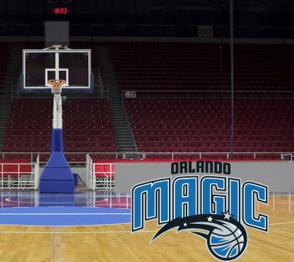 Orlando Magic American Professional Basketball Team Amway Center NBA Wall Decal Sticker (Amway Decal compare prices)