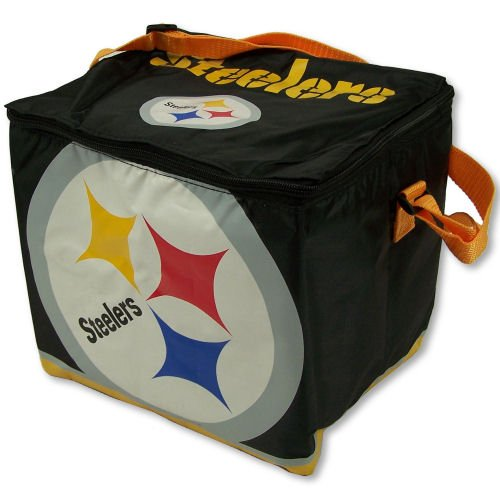 Steelers 12 Pack Insulated Lunch Bag Cooler by Forever Collectibles