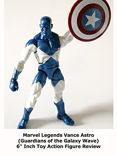 "Review: Marvel Legends Vance Astro (Guardians of the Galaxy Wave) 6"" Inch Toy Action Figure Review"