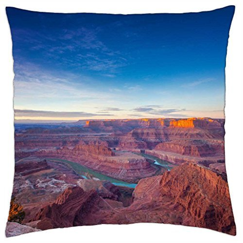 Dead Horse Point-Throw Pillow Cover Case (45,7x 45,7cm)