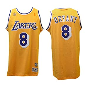 Los Angeles Lakers #8 Kobe Bryant NBA Soul Swingman Jersey, Gold by adidas