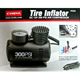 Original Coido 6526 12V Electric Car Tyre Inflator & Air Compressor Pump 300 Psi