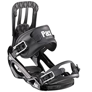 Salomon Pact Snowboard Bindings Black Sz L
