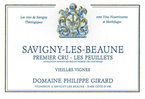 2011 Domaine Philippe Girard: Savigny-Les-Beaune Premier Cru Les Peuillets 750 Ml