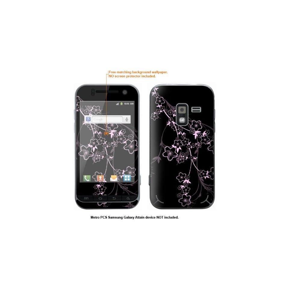 Protective Decal Skin Sticker for Metro PCS Samsung Galaxy Attain 4G case cover Attain 240
